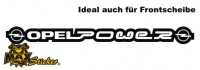 Car-Sticker Opel Motiv 29