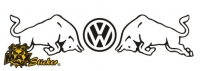 Car-Sticker VW Motiv 10