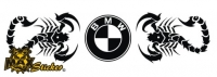 Car-Sticker BMW Motiv 12