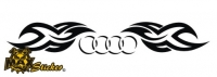 Car-Sticker Audi Motiv 13