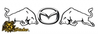 Car-Sticker Mazda Motiv 10