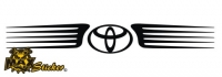 Car-Sticker Toyota Motiv 17