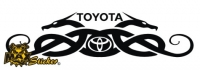 Car-Sticker Toyota Motiv 18